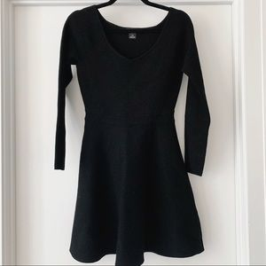Club Monaco Black Knit Dress - Size Small